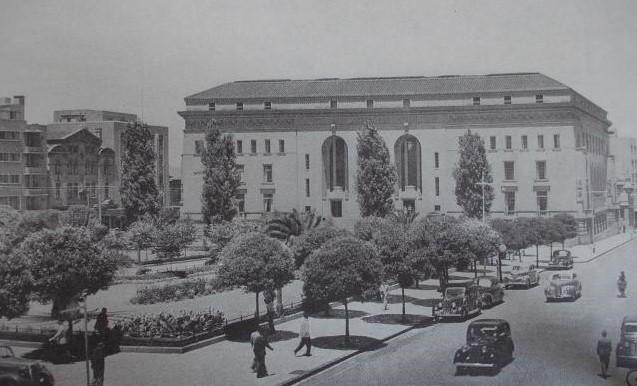 The library in 1935